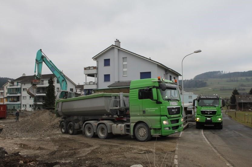 Baustellentransporte